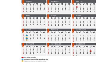 d nde empiezan las clases tn ar ciclo lectivo 2018 cu 225 ndo ser 225 n las vacaciones de