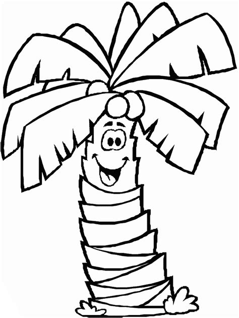 palm tree template az coloring pages palm tree coloring pages for kids az coloring pages
