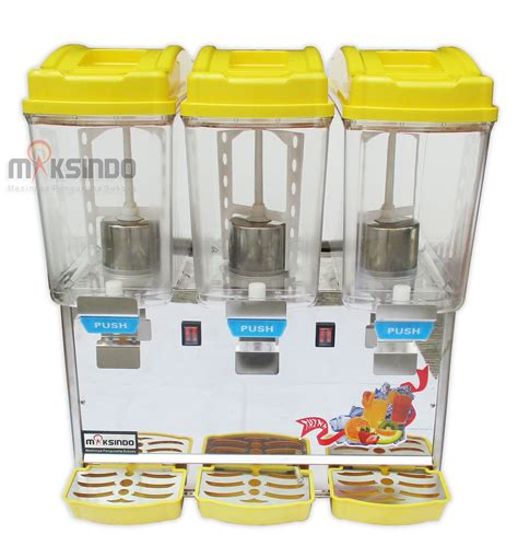 Dispenser Di Bandung jual mesin juice dispenser 3 tabung 17 liter adk 17x3 di bandung toko mesin maksindo bandung