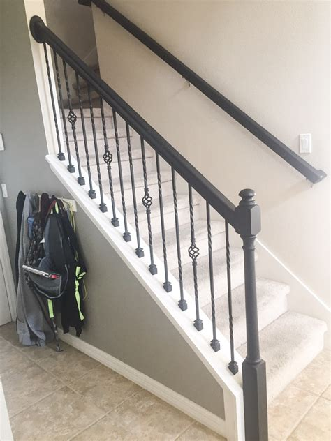 Stair Banister Ideas Bq by How To Paint A Stair Rail