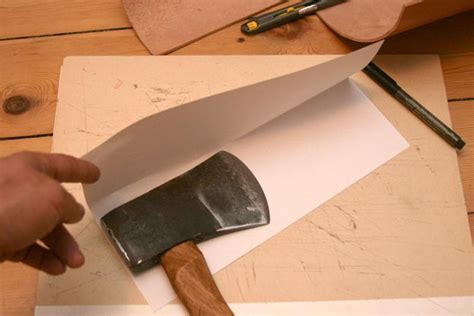 How To Make A Paper Axe - axes adzes and drawknifes 1 a leather sheath for