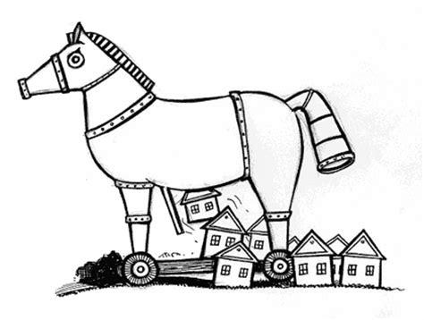 coloring page trojan horse trojan horse clip art cliparts co