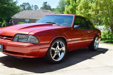1991 ford mustang lx coupe supercharged notch notchback 5 0