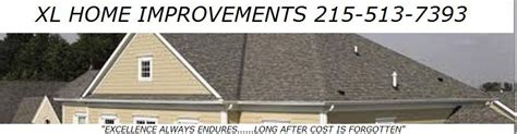 xl home improvements roofing gutters siding more