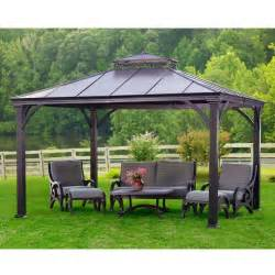 Aluminum Gazebo by 1499 Aluminum Gazebo 12x10 Backyard Livin Pinterest