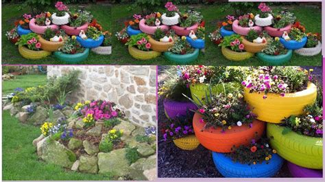 imagenes de jardines reciclables ideas de como decorar tu jardin linda imagenes youtube