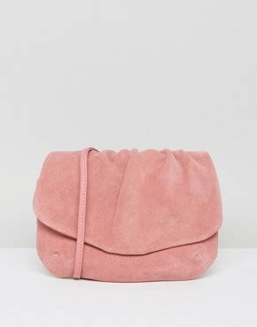 Ruched Across Bag At Asos by Cross Bags Leather Cross Bags Asos
