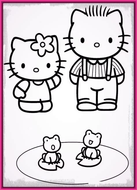 imagenes de navidad sin color hello kitty navidad para colorear e imprimir archivos