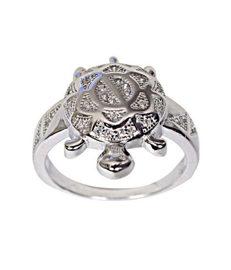navkaar creation tortoise ring in 925 sterling silver