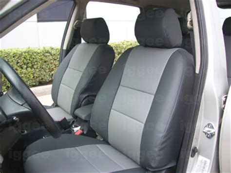 toyota yaris seat covers 2005 toyota yaris 2005 2009 leather like custom fit seat cover