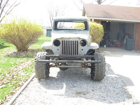 Jeep 55 S finishing what i started 55 willys truck