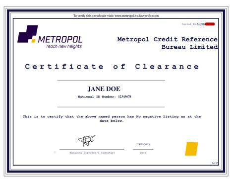 Metro Divorce Letter metropol corporation verification