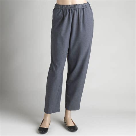 comfort waist pants briggs petite s comfort waist pants