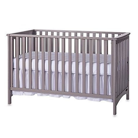 Child Craft London 3 In 1 Euro Style Convertible Crib In Gray Convertible Cribs