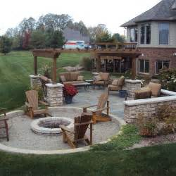 backyard designs with pits detroit backyard pit home design ideas pictures
