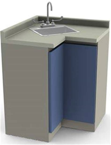 corner sink with cabinet object moved