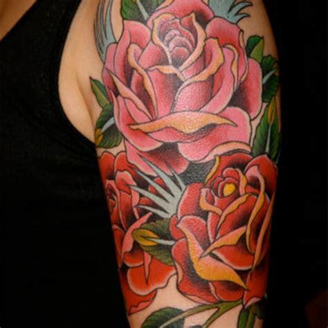 rose tattoo on left shoulder 69 graceful roses shoulder tattoos