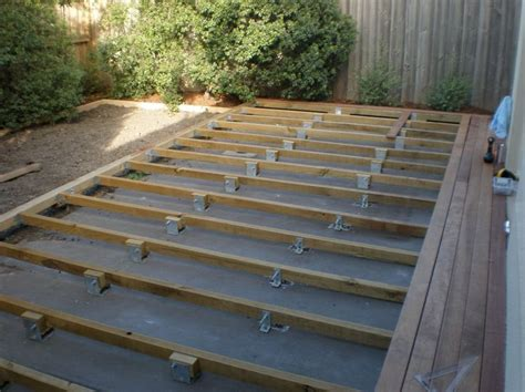 build  deck  concrete slab   renovateforum