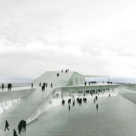 design concept for ferry terminal architecture world ferry terminal by c f m 248 ller