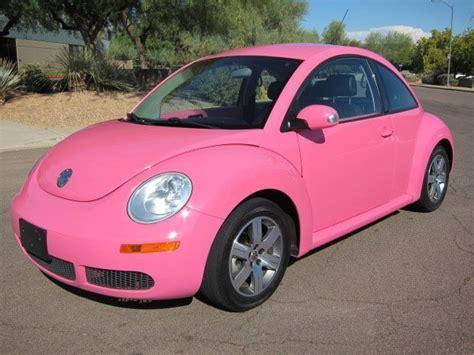 volkswagen beetle pink بالصور سيارات ناعمة تناسب المرأة في 2014