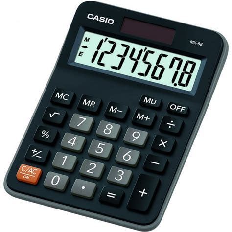 Casio Kalkulator Gx 12b Bk Black by Desktop Calculators Casio Desktop Calculator 147 X 106