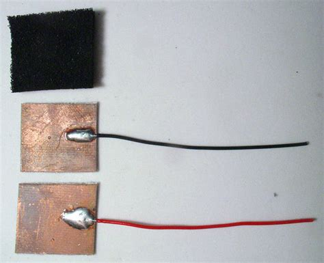 sensitive resistor diy diy sensitive resistor fsr do it yourself