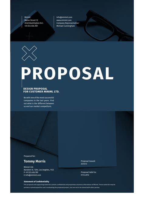 design project proposal guidelines minimal design proposal by egotype issuu