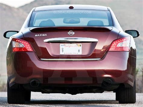 Trunk Lid Accessories Chrome Datsun Go Series nissan maxima rear chrome trunk lid trim rear chrome trim