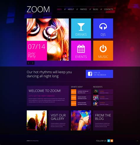 Club Template by Club Templates On Behance