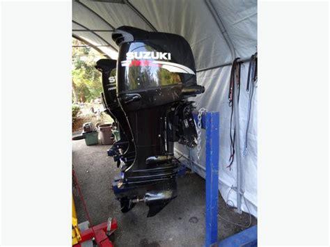 140 Suzuki 4 Stroke 2012 Suzuki 140 4 Stroke Outboard Central Saanich