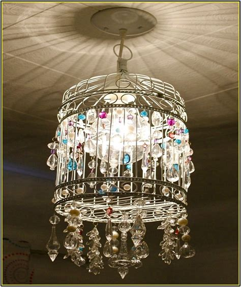 how do you make a chandelier how to make a birdcage chandelier fallcreekonline org