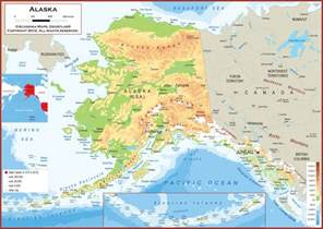 Map Alaska by Pics Photos Surrounded By Water Another Map Of Alaska