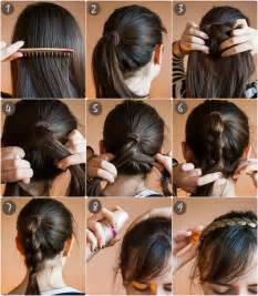 ways to braid your hair for a sew in 2 ways to braid your hair with hair extensions for thin