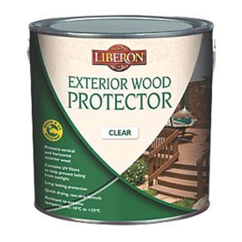 liberon exterior wood protector clear ltr decking