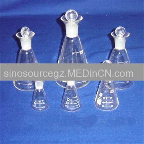 Iodine Flask With Glass Stopper 100 Ml Iwaki iodine flask with ground in glass stopper offered by guangzhou sinosource trade co ltd