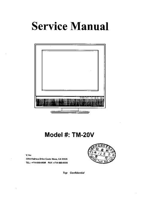 visio tv manual vizio tv repair manual images