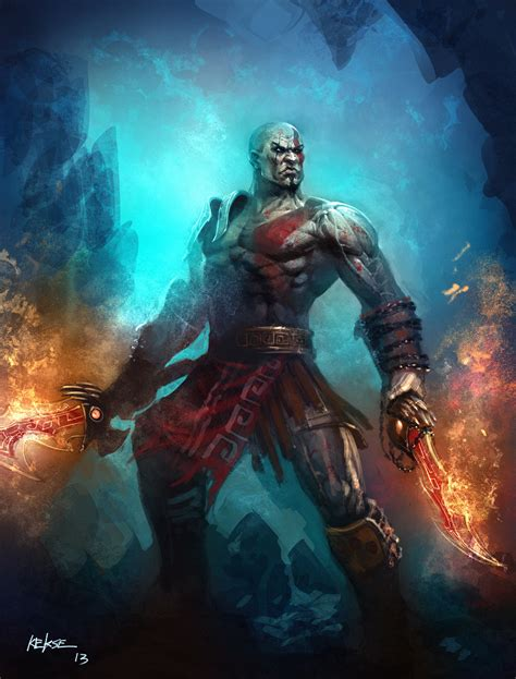 kratos by kekse0719 on deviantart