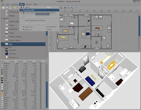 3d home design software open source 100 home design