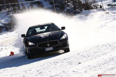 maserati italy maserati winter tour in livigno italy gtspirit