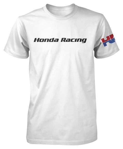 Tshirt Honda Cbf honda hrc racing t shirt 10 3 00 revzilla
