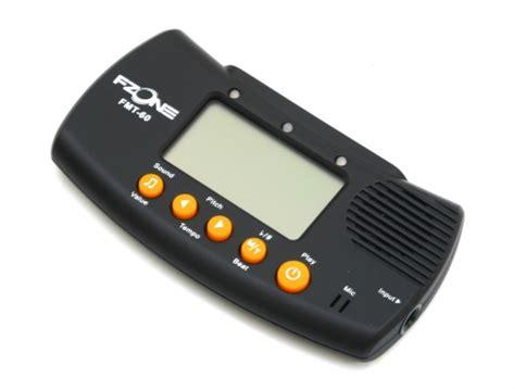 Metronome Tuner Fzone fzone fmt 60 metronome with tuner