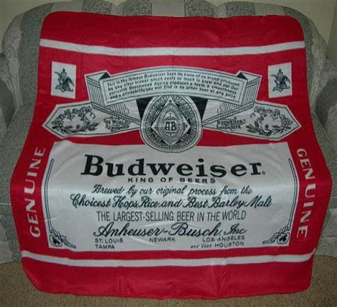 bud light fleece blanket new budweiser bud beer fleece blanket bottle logo soft for