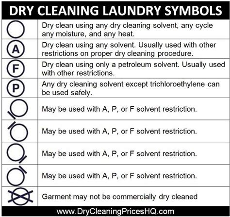 how much is it to dry clean a comforter what do the symbols on your clothes mean polly s lookbook