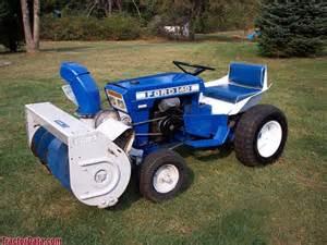Ford Garden Tractor Ford Garden Tractor Ebay Lawnside Classics Burt S