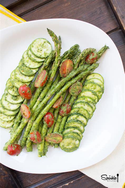 pesto salad asparagus pesto salad sparkle kitchen