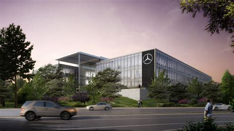 mercedes headquarters mercedes usa headquarters projects gensler