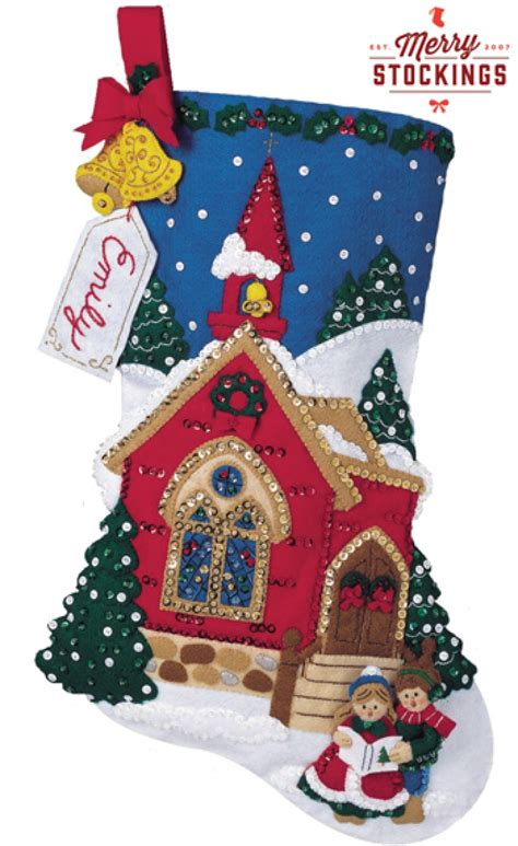 bucilla christmas o holy carolers bucilla felt kit