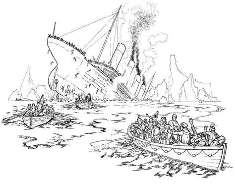 titanic underwater coloring pages titanic coloring pages coloringpages1001 com