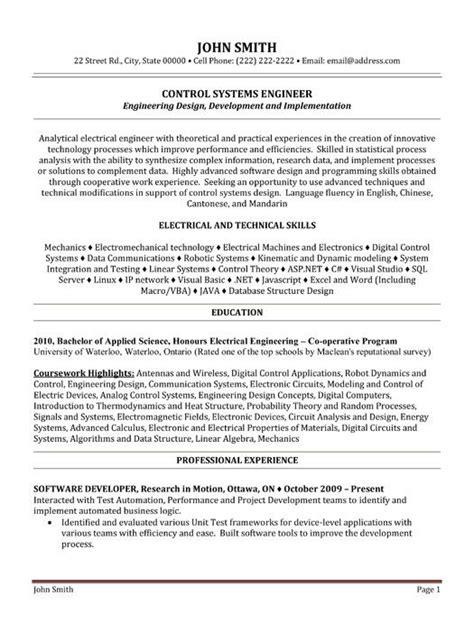 10 best best electrical engineer resume templates