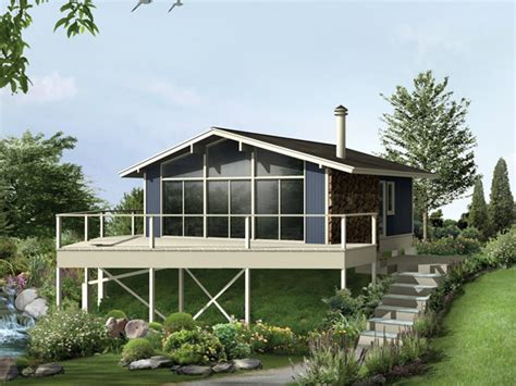 raised house beaverhill raised vacation home plan 008d 0133 house